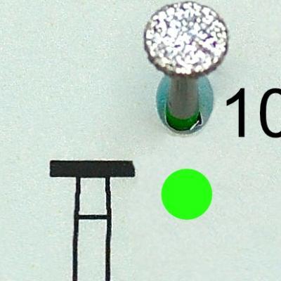 Fraise diamantée 10