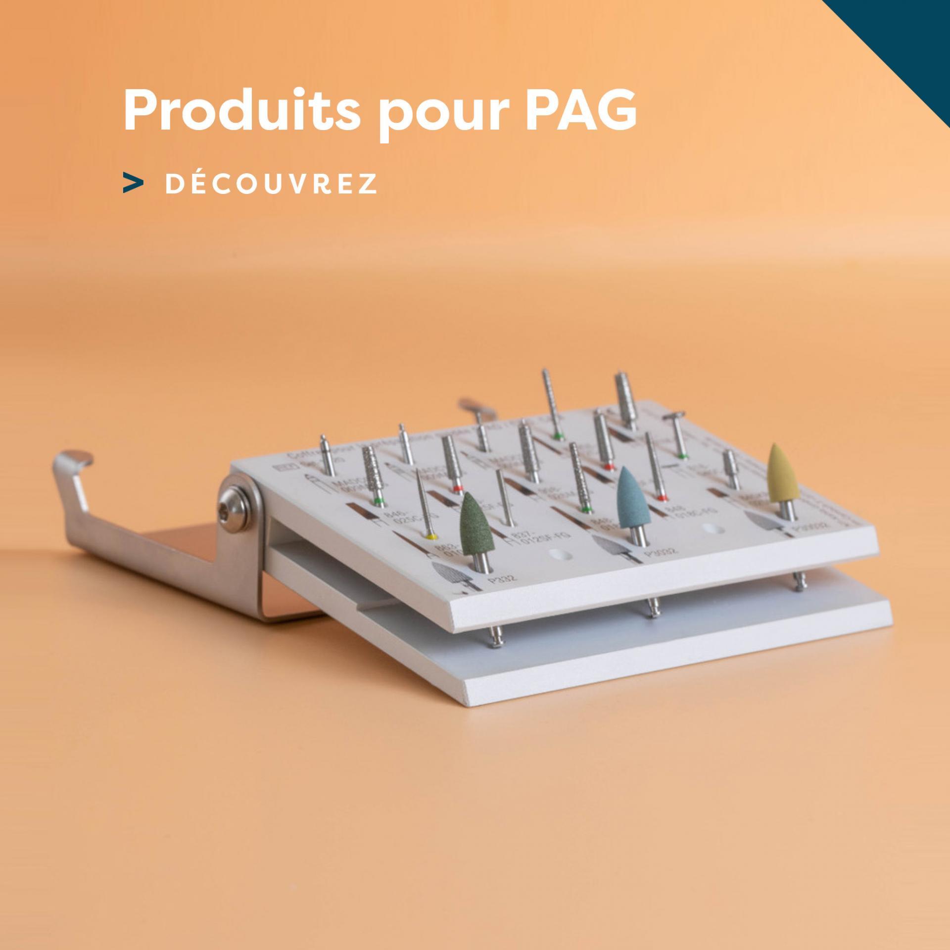 Produits pour PAG